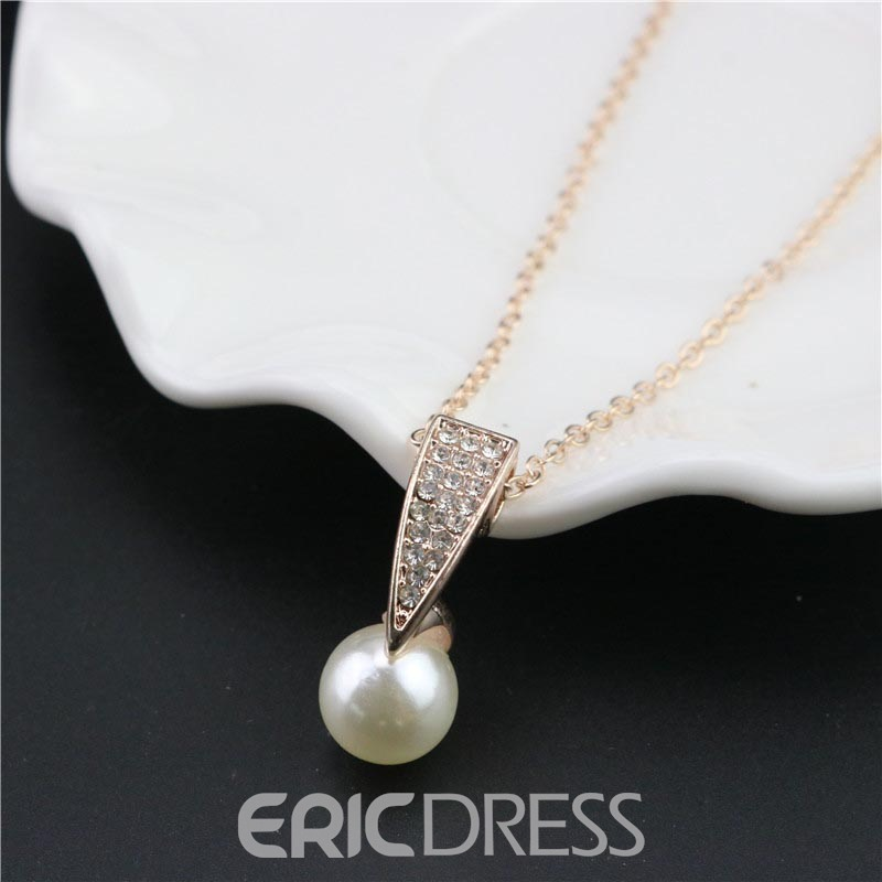Ericdress Two-Piece Imitation Pearl Jewelry Set for Women