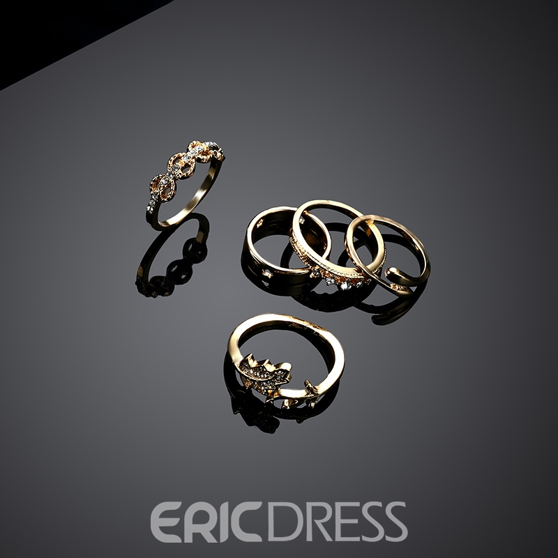 Ericdress All Match Alloy Diamante Jewelry Set for Women
