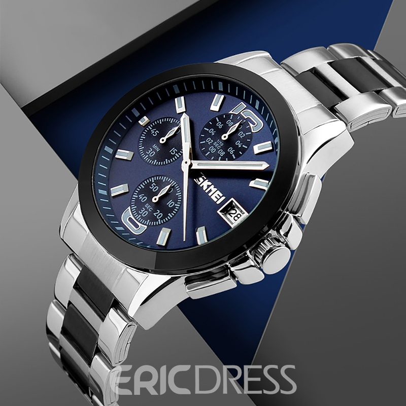 Ericdress Multilayer Business Stainless Steel Watchband Watch for Women