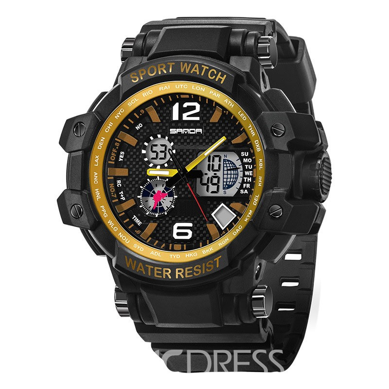 Ericdress JYY New Style 30M Waterproof Men's Sport Watch