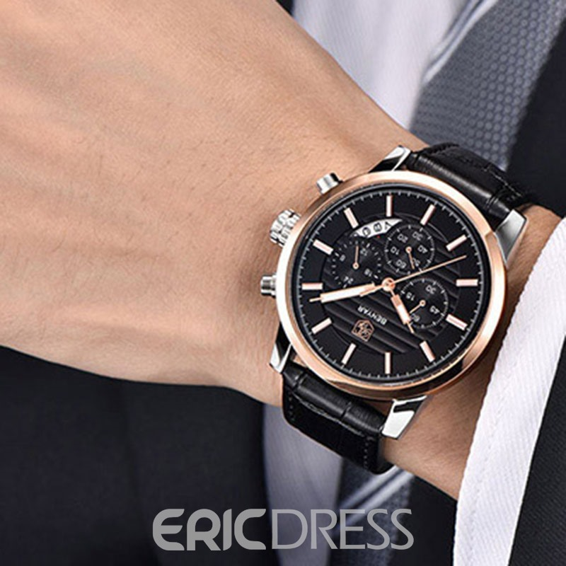 Ericdress High-End Waterproof Quartz Men's Watch