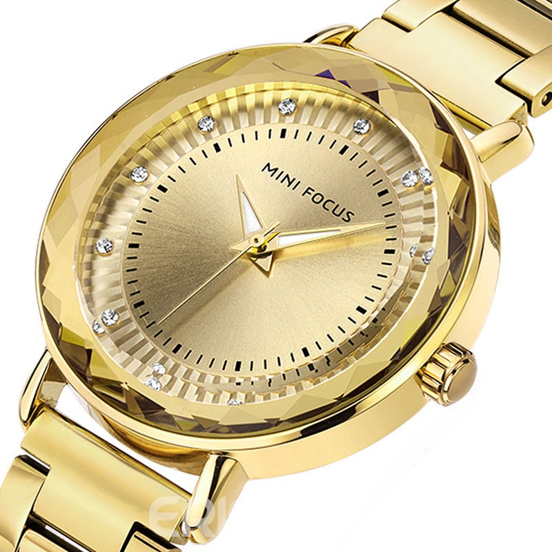 Ericdress Stainless Steel Strap 30M Waterproof Women's Watch