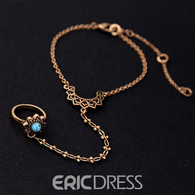 Ericdress Retro Flower Fashionable Bracelet