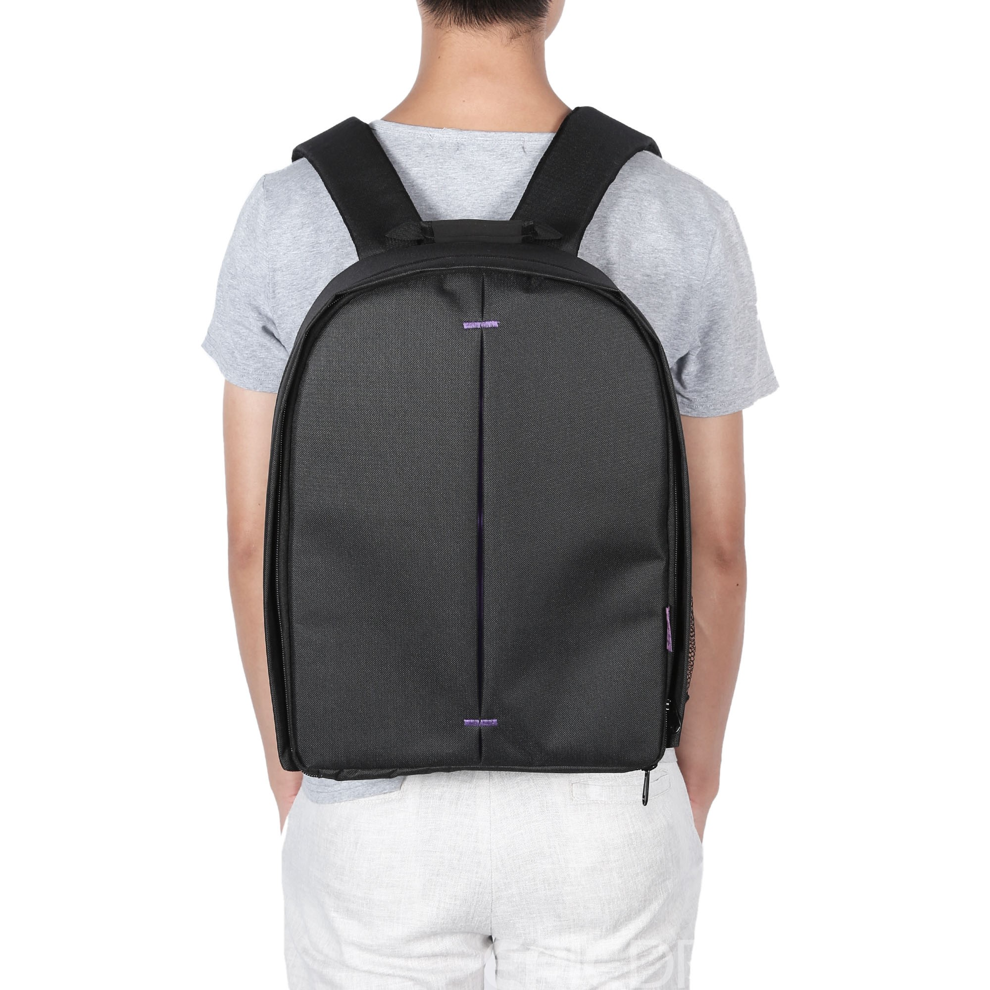 Ericdress Nylon Plain European Backpacks