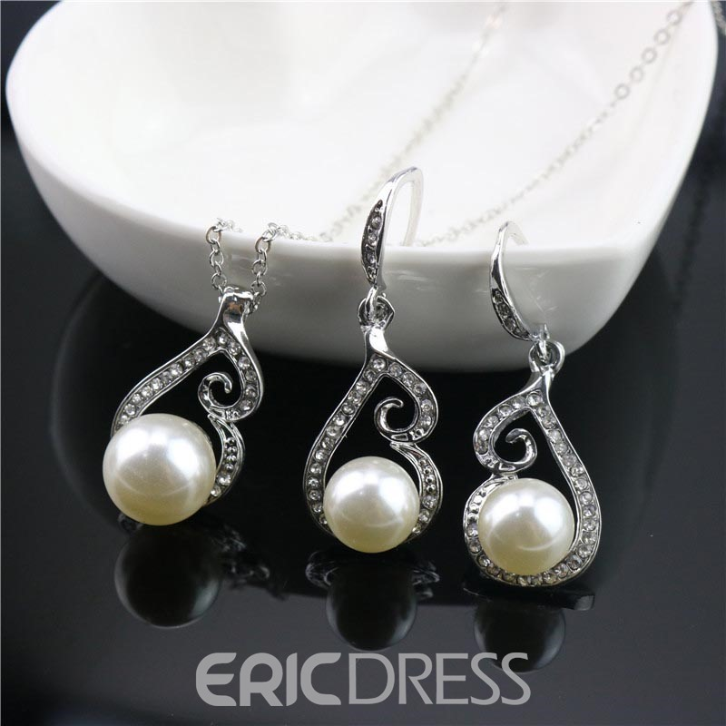 Ericdress All Match Imitation Pearl Jewelry Set for Women
