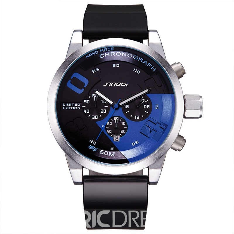 Ericdress 30M Waterproof Chic Men's Watch