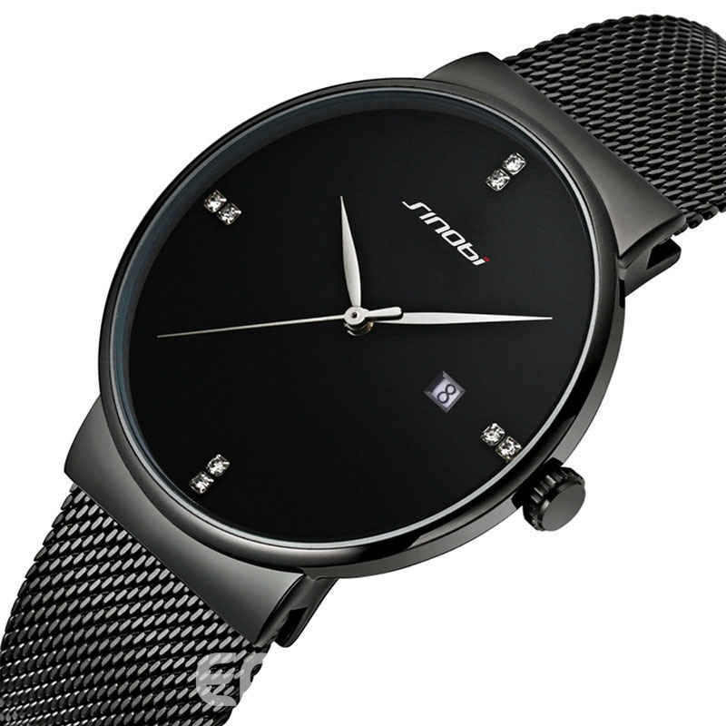 Ericdress JYY Stainless Steel Strap Waterproof Men's Watch
