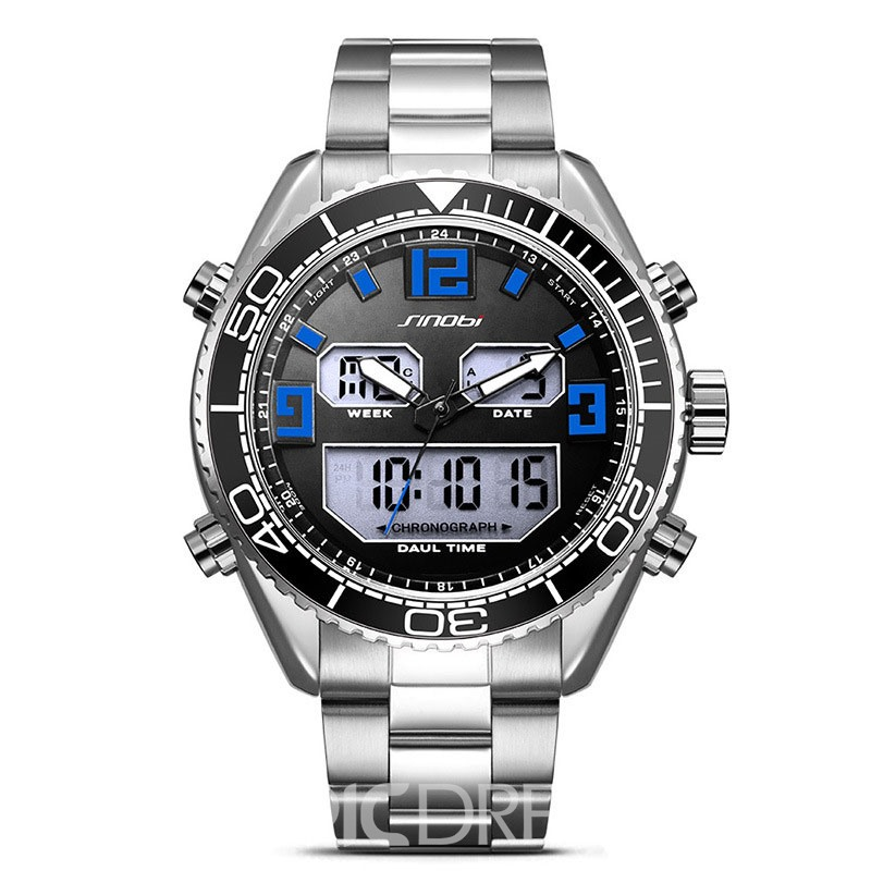 Ericdress JYY Stylish Calender Digital Display Men's Watch
