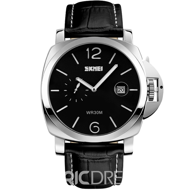 Ericdress Best Seller Pin Buckle Leather Strap Men's Watch