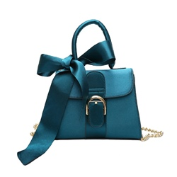 Ericdress Bowknot Decoration Chain Women Handbag