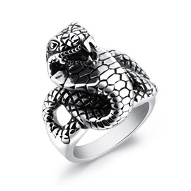 Ericdress New Stylish Titanium Sneak Men's Ring