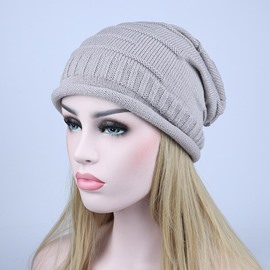 Ericdress Hot Pleated Knitting Wool Autumn&Winter Women's Hat