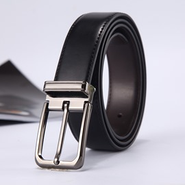 Ericdress Best Seller Genuine Leather Pin Buckle All Match Belt for Men