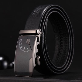Ericdress High Quality Genuine Leather Automatic Buckle Business Belt for Men