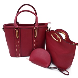 Ericdress Stylish Rivet Decoration Women Handbag
