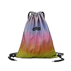 ericdress gradient color prints nylon cadena mochila