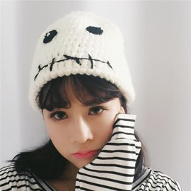Ericdress Knitting Wool Cartoon Pattern Hat