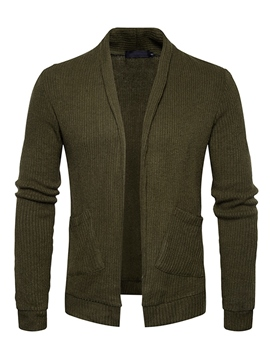 Ericdress Plain Cardigan Vogue Casual Slim Men's Knitwear