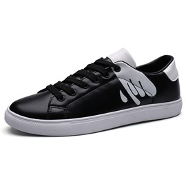 Ericdress Print Color Block Men's Skater Shoes