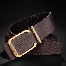Ericdress Best Seller Smooth Buckle Luxurious Men's Belt