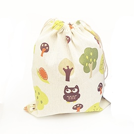 Ericdress Hand Painted Pattern Cotton Storage Backpack