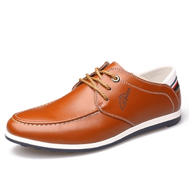 Ericdress Fashion Color Block Low-Cut Men's Casual Shoes