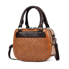 Ericdress Shell Shape Rivet Decoration Women Handbag