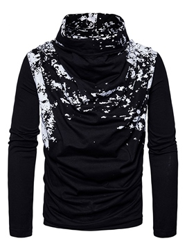 Ericdress Print Heap Collar Vogue Men's Pullover Sweater