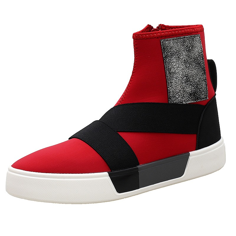 Ericdress Fashion Color Block Patchwork Mens Athletic Shoes