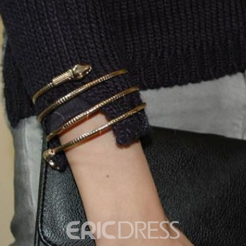 Ericdress Chic Snake Bracelet for Women