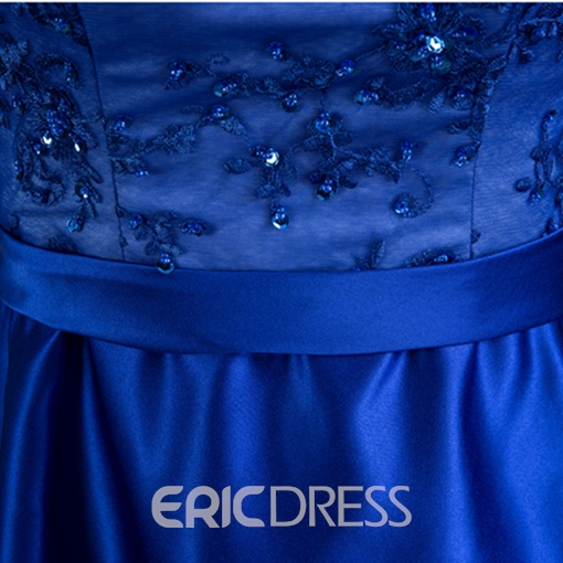 Ericdress A-Line Appliques Beading High Low Homecoming Dress