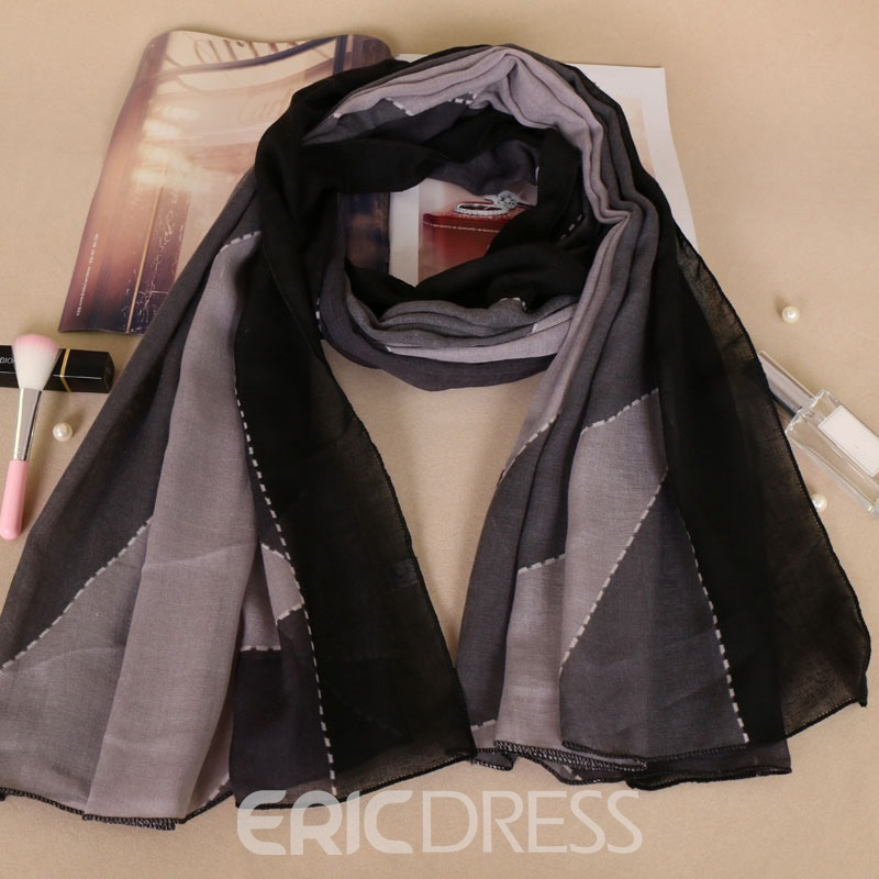 Ericdress All Match Voile Printed Women's Scarf