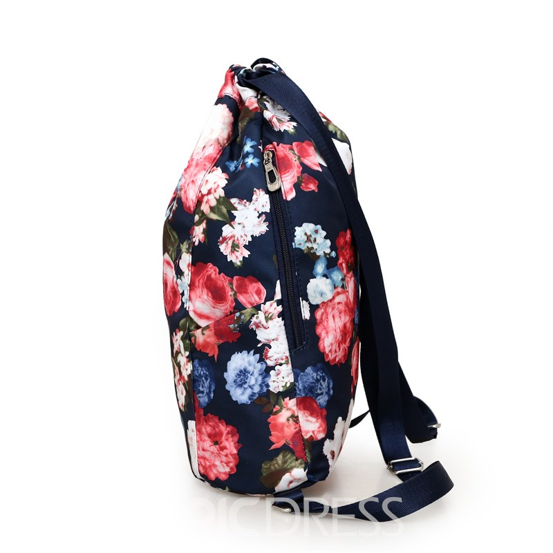 Ericdress Outdoor Style Oxford Waterproof Backpack