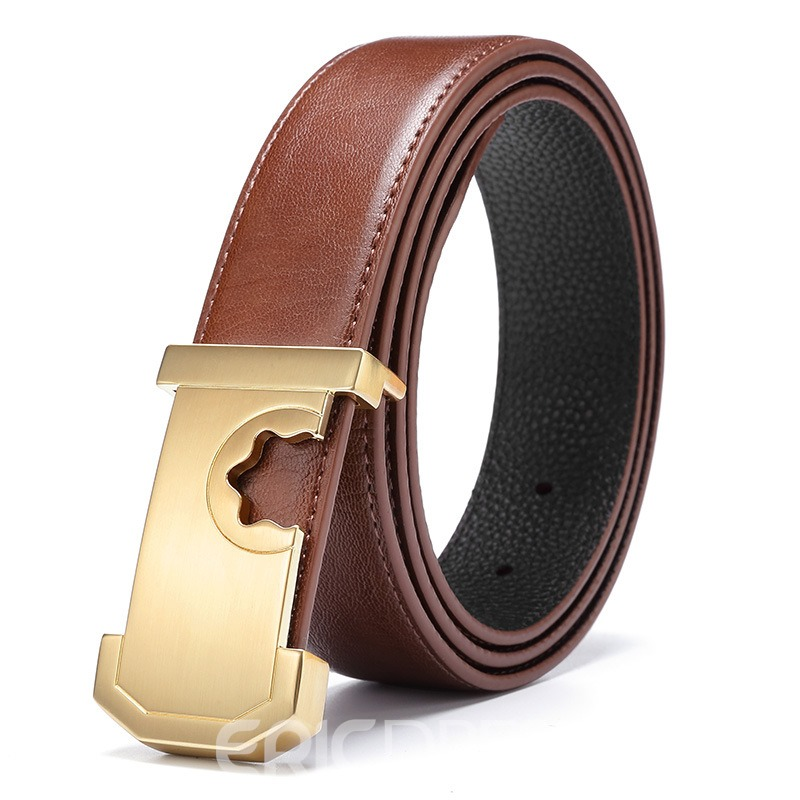 Ericdress Personal Genuine Leather High Quality Men's Belt