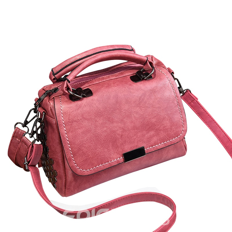 Ericdress Personality Rivet Adornment Crossbody Bag