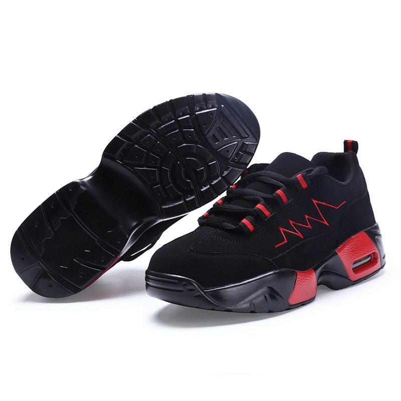Ericdress Comfy Color Block Thick Sole Men's Athletic Shoes