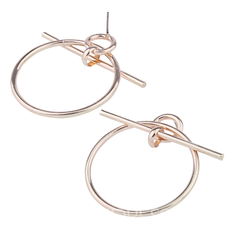 Ericdress Concise Design Alloy Women's Earring