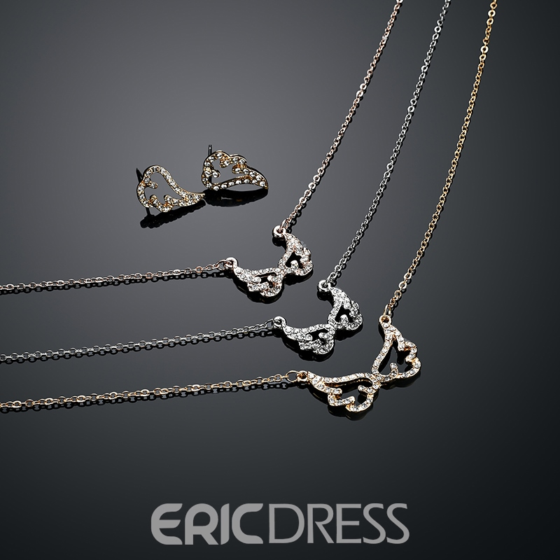 Ericdress New Style Angle's Wing Jewelry Set