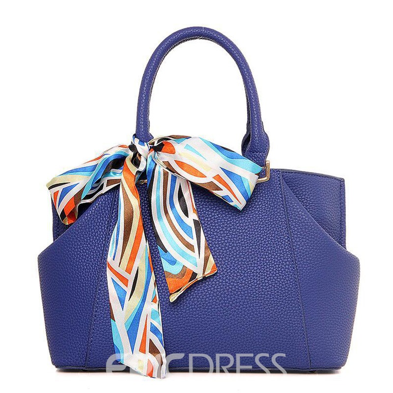 EricdressPU Zipper Women Handbag Scarf