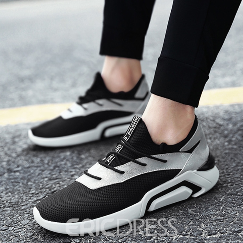Ericdress Light Color Block Patchwork Men's Athletic Shoes