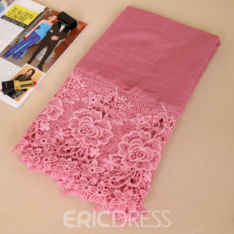 Ericdress Exquisite Organza Embroidery Women's Scarf