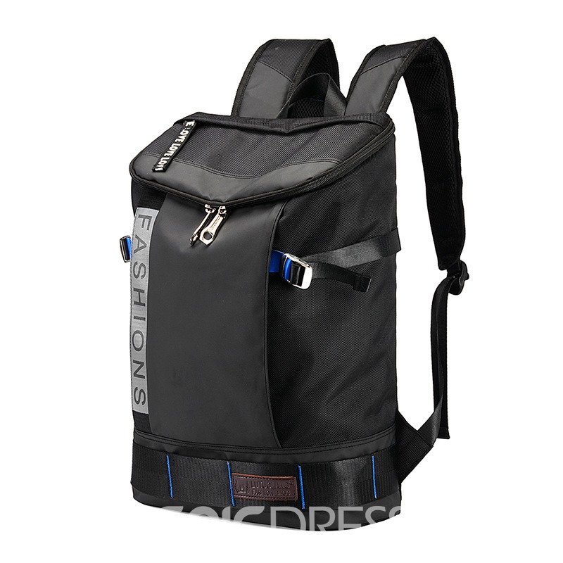 Ericdress Casual Burglarproof Denim Men's Backpack