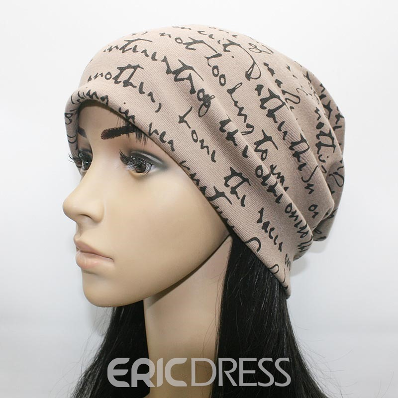 Ericdress Hip-Hop Style Letter Printed Best Seller Women's Hat