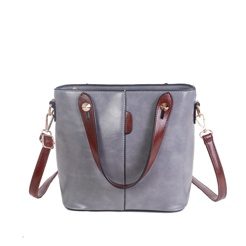 Ericdress Casual Solid Color Crossbody Bag