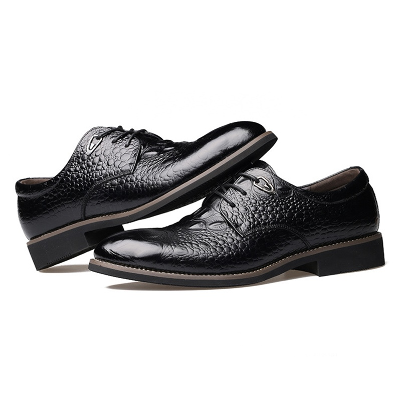 Ericdress All Match Plain Lace-Up Men's Oxfords