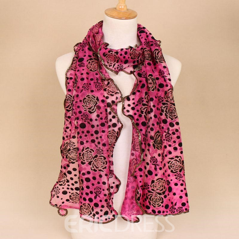 Ericdress Bright Chinlon Women's Scarf