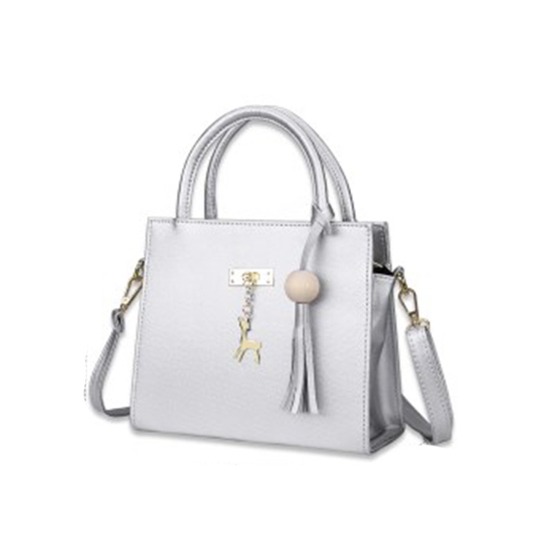 Ericdress Concise Pendant Solid Color Handbag
