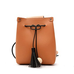 Ericdress Casual Tassel Solid Color Crossbody Bag