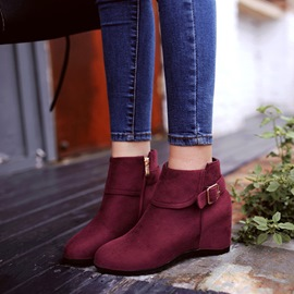 15445464865 Womens Flat Boots   Flat Booties for Sale Online - Ericdress.com