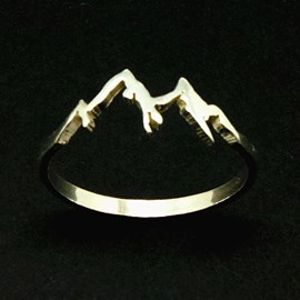Ericdress Alloy Peak Ring